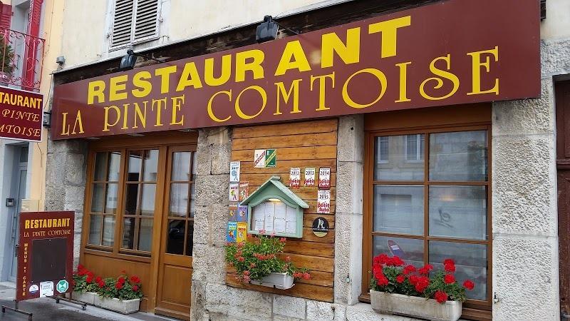 Devanture de la Pinte Comtoise / Restaurant à pontalier